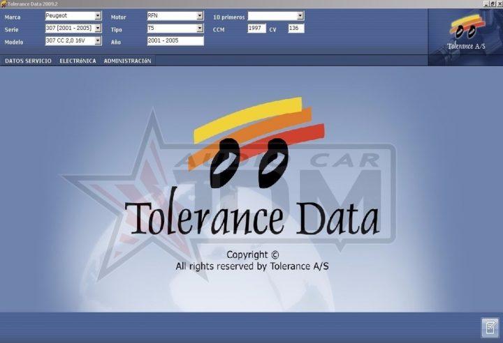 Tolerance Data