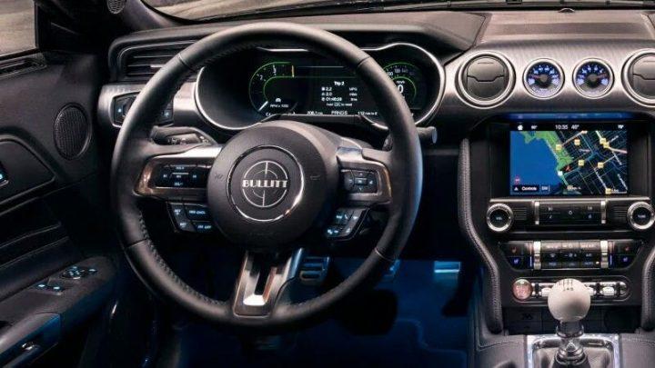 Caja de cambios manual del Ford Mustang 2019