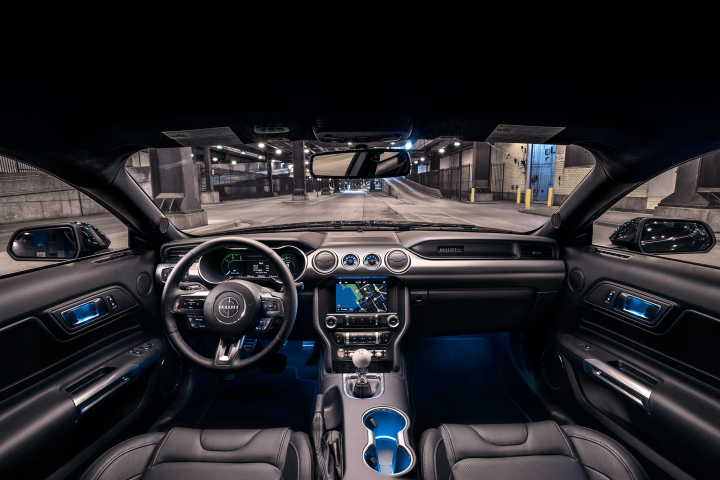 Tableros digitales del Ford Mustang 2019