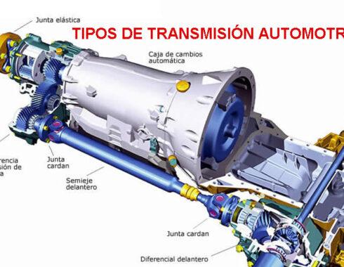 Tipos de transmisión automotriz