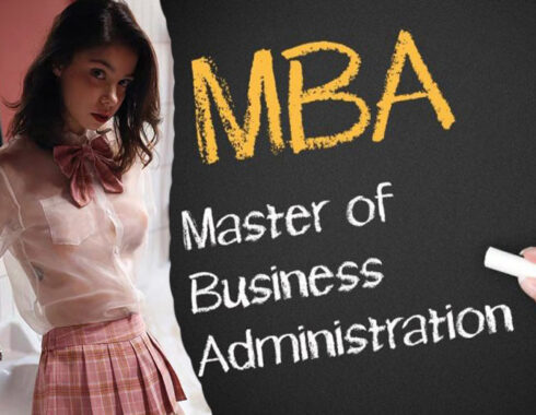 La aplicación del sitio web de MBA de USA