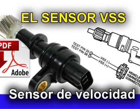 El Sensor VSS, sensor de velocidad Automotriz