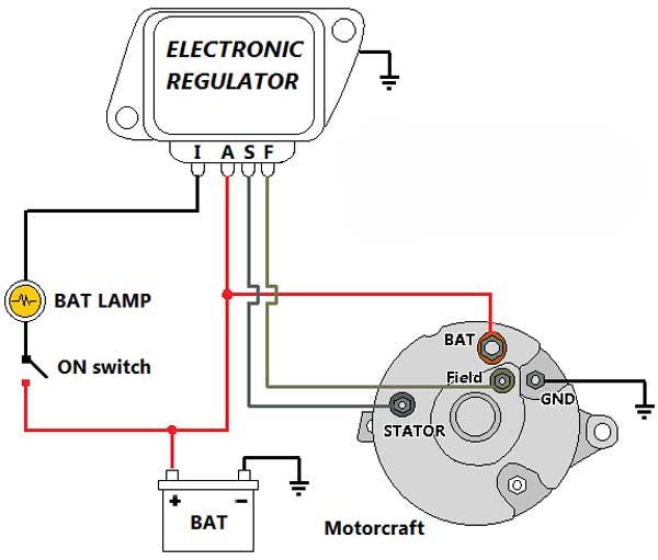 diagrama del alternador