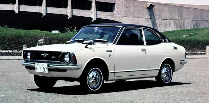 Toyota Corolla de la segunda generación