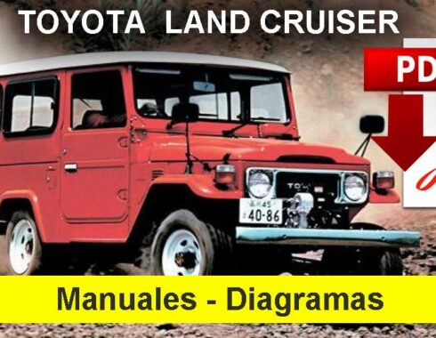 Toyota Land Cruiser Manual y diagramas eléctricos