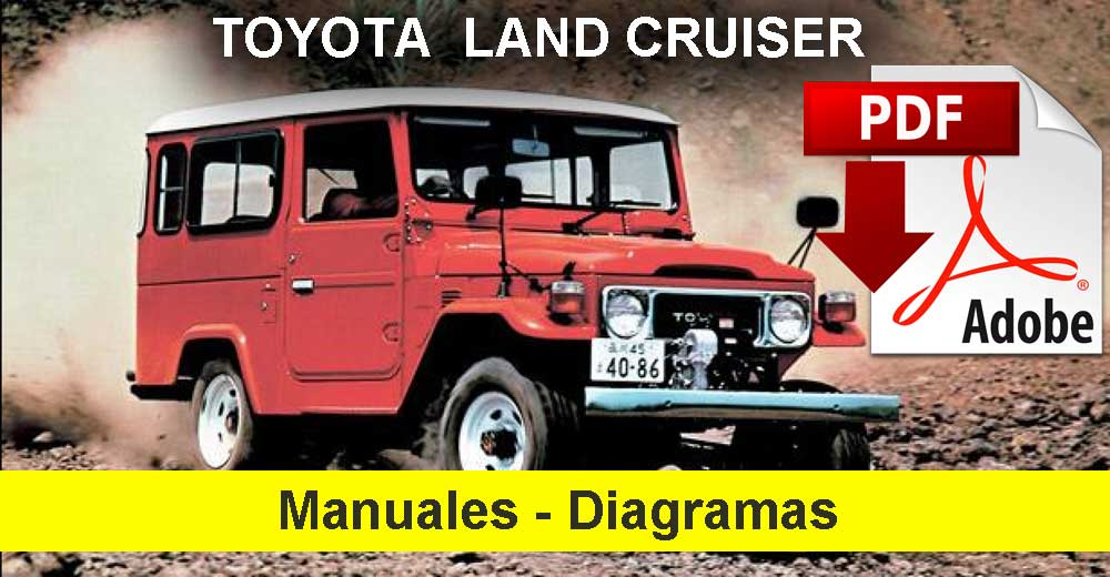 Toyota Land Cruiser Manual y diagramas eléctricos