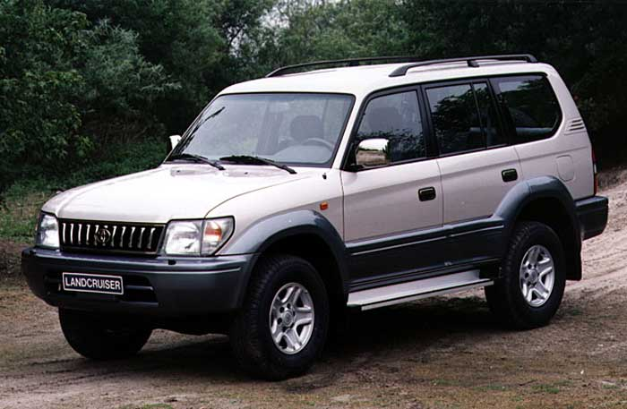 Land Cruiser 90 dominante