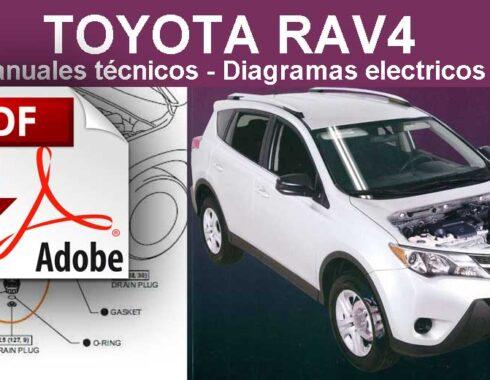 Toyota RAV4 Manual de servicio, reparación y Diagramas eléctricos