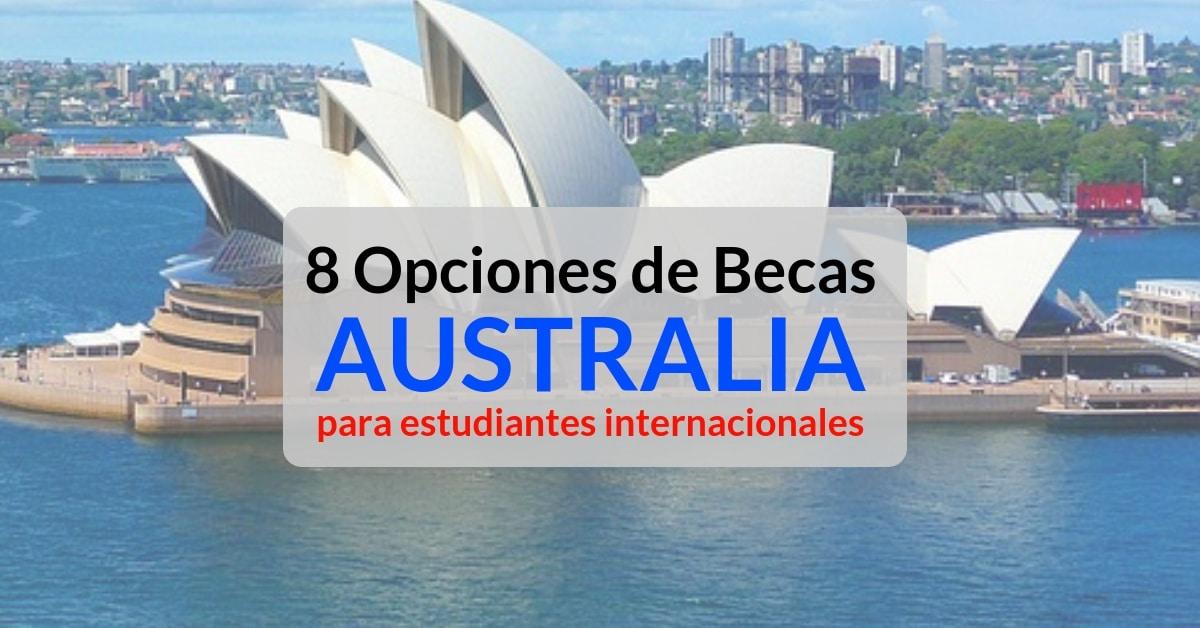 Becas estudiantiles para Australia